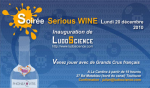 Serious Wine night - Official registration of the Ludoscience association