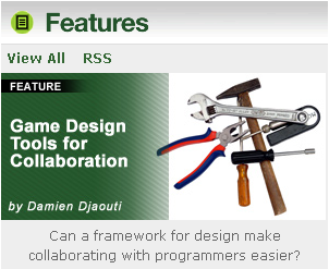 Game Design tools for collaboration @Gamasutra