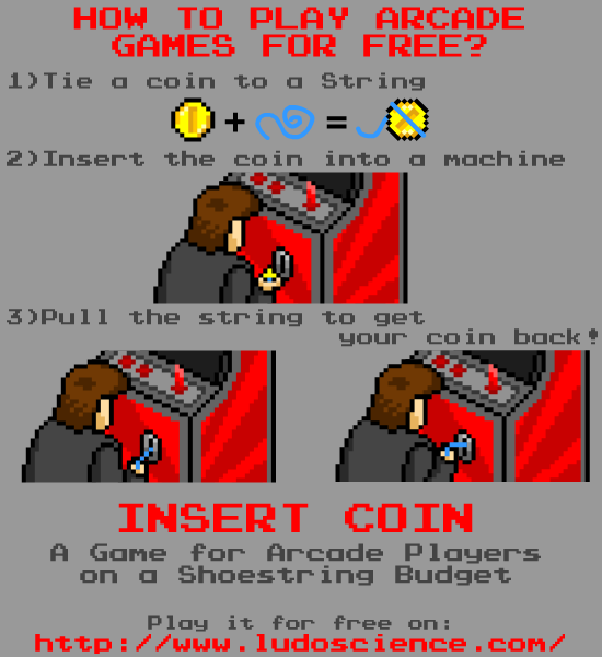 LudoScience - Release of our game Insert Coin !