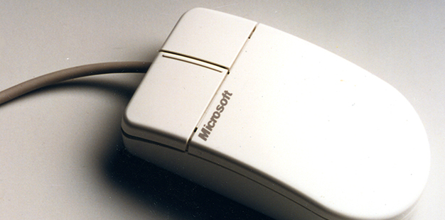 Microsoft Contour Mouse, aka Dove Bar