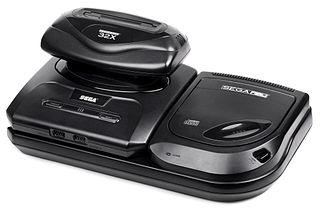Sega Mega Drive avec Mega CD et 32X