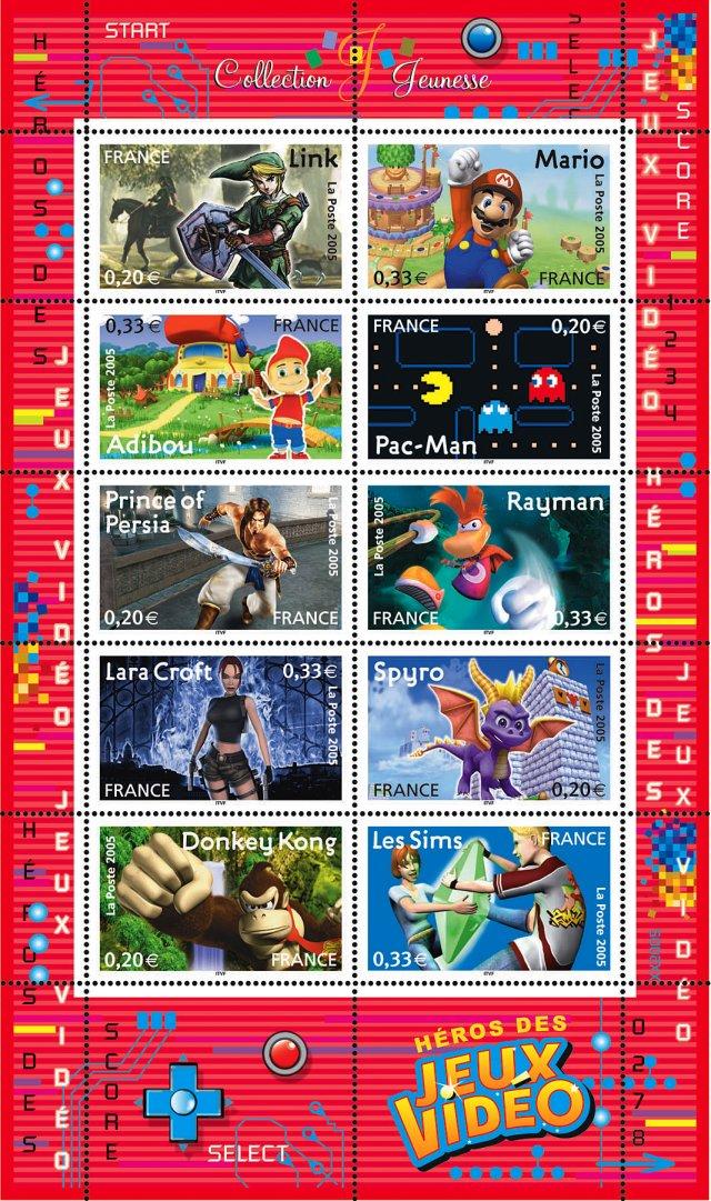 Les timbres
